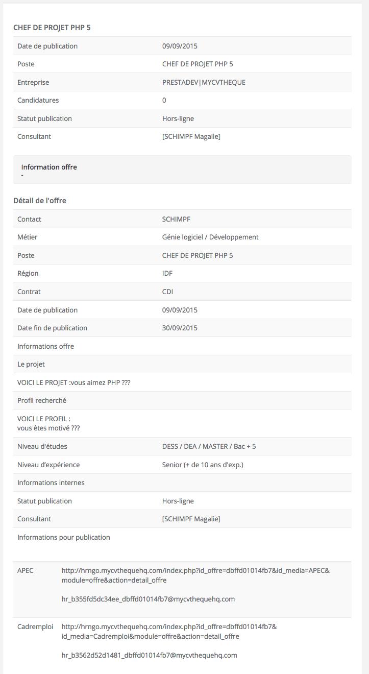 15 jours d u0026 39 essai gratuit de mycvtheque  le logiciel rh